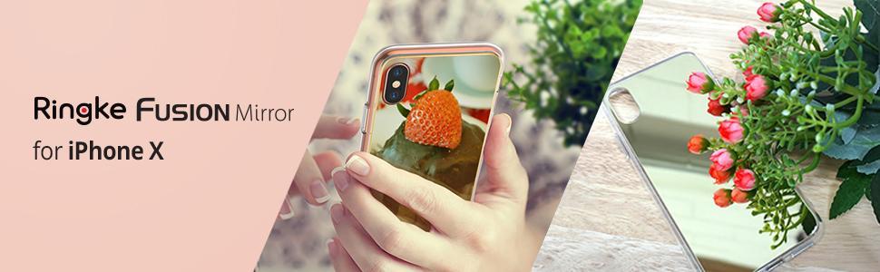 Huse Ringke Fusion Mirror pentru iPhone X