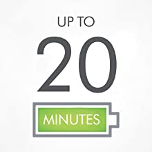 up to 20 minutes