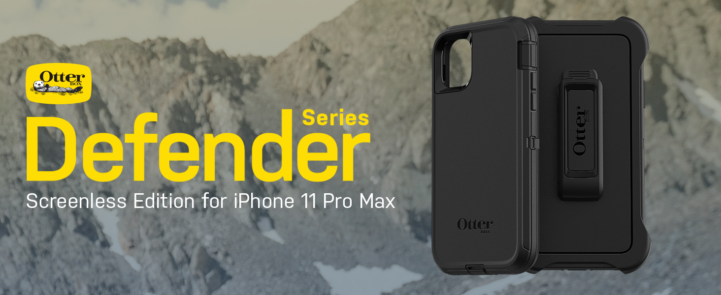 OtterBox Defender Series Case and Holster - iPhone 11 Pro Max