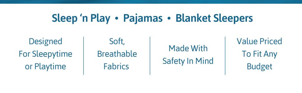sleepwear, pajamas
