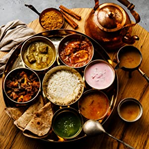 Traditional Indian Meal Spice Hut