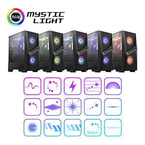 personalize mystic light