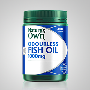 Nature's Own; Nature's Own Fish Oil; Fish oil; odorless fish oil; odourless fish oil