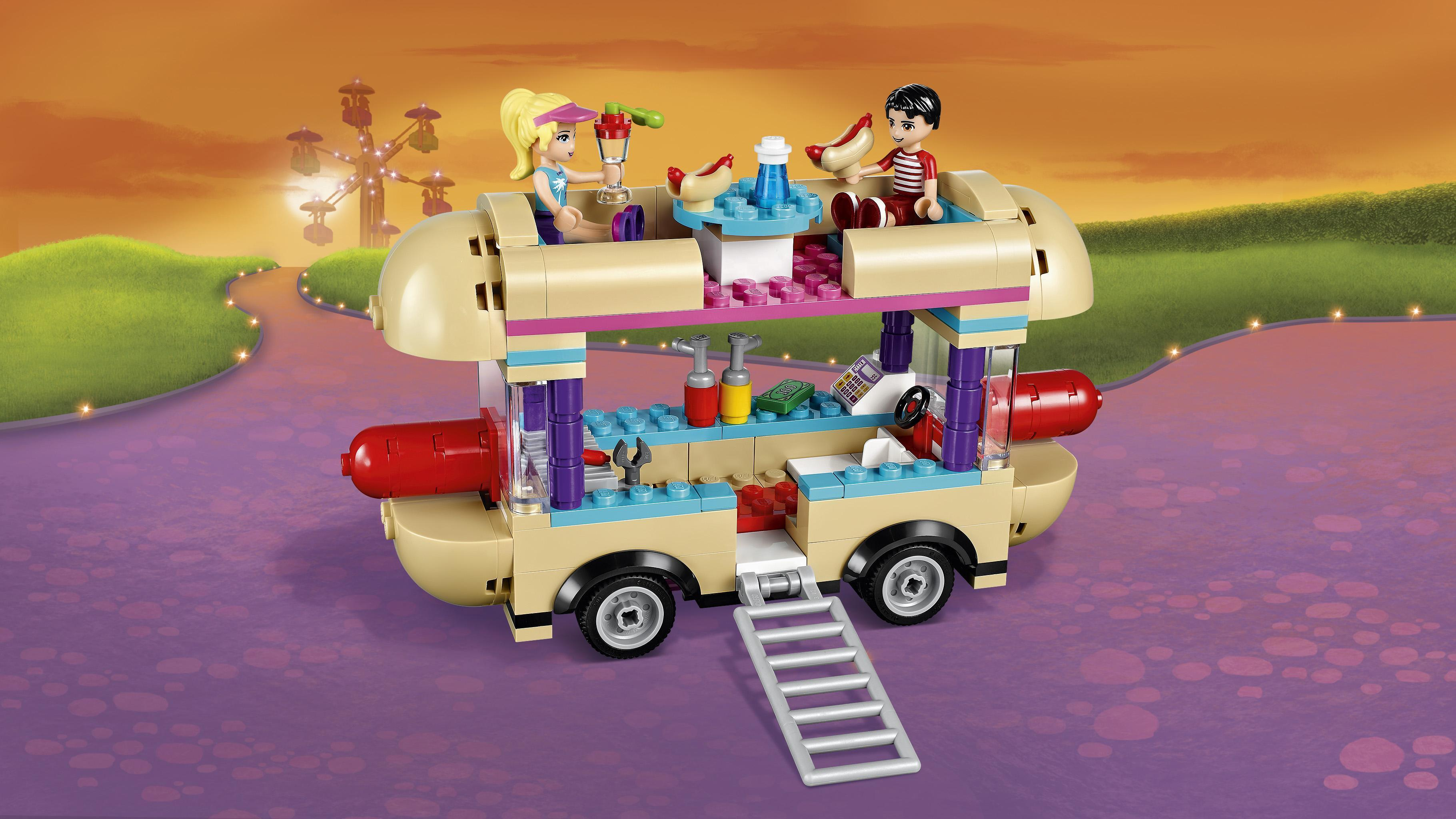 Lego Friends Hot Dog Stand Amazon