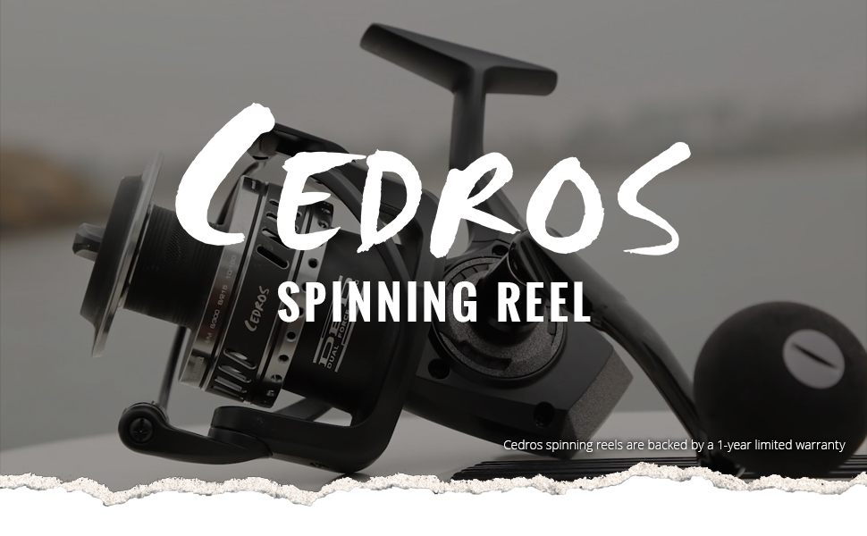 Okuma Fishing USA - Cedros Spinning Reel Header Image