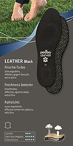 pedag black leather