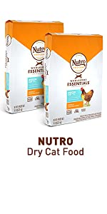 Nutro Dry Cat Food, Kibble, Chicken, Cat Food Bag, Protein, Food for Cats, Adult Cat Food, Nutrition
