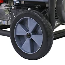 Pulsar 12,000W Dual Fuel Portable Generator in Space Gray with Electric Start, G12KBN, CARB Approved