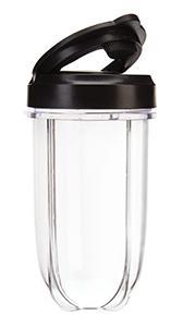 NutriBullet MBR1128 - Batidora de Vaso, Compacta de Alta Velocidad, para Smoothies de Frutas y Verduras, Plástico Libre BPA, 200 W, con Recetario en ...