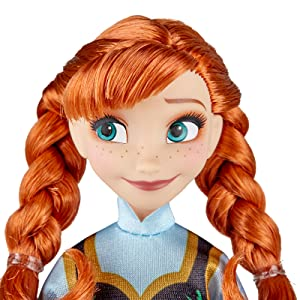 disney, frozen, anna, frozen anna doll, anna doll, fashion doll