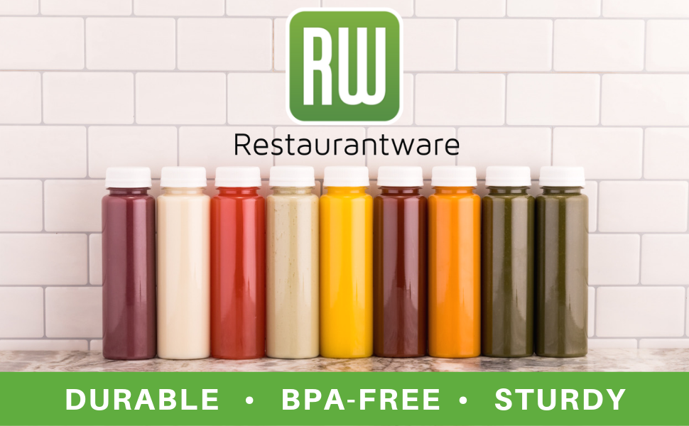 BPA-free juice bottles are a convenient way to take refreshing drinks to go.