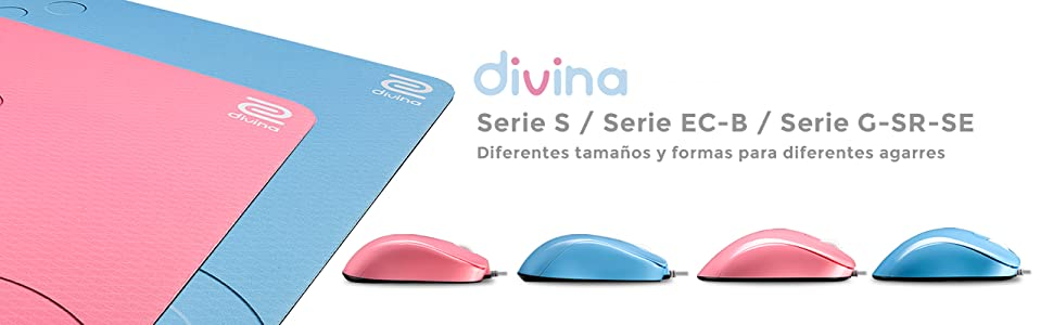 BenQ Zowie Divina S2 - Ratón para e-Sports, Color Azul: Amazon.es ...