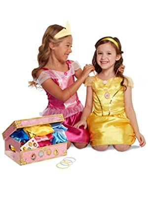 1191b78a51c Amazon.com  Disney Princess Dress Up Trunk (Amazon Exclusive)  Toys ...