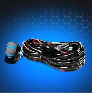 Amazon com Nilight NI WA 07 LED Light Bar Wiring Harness