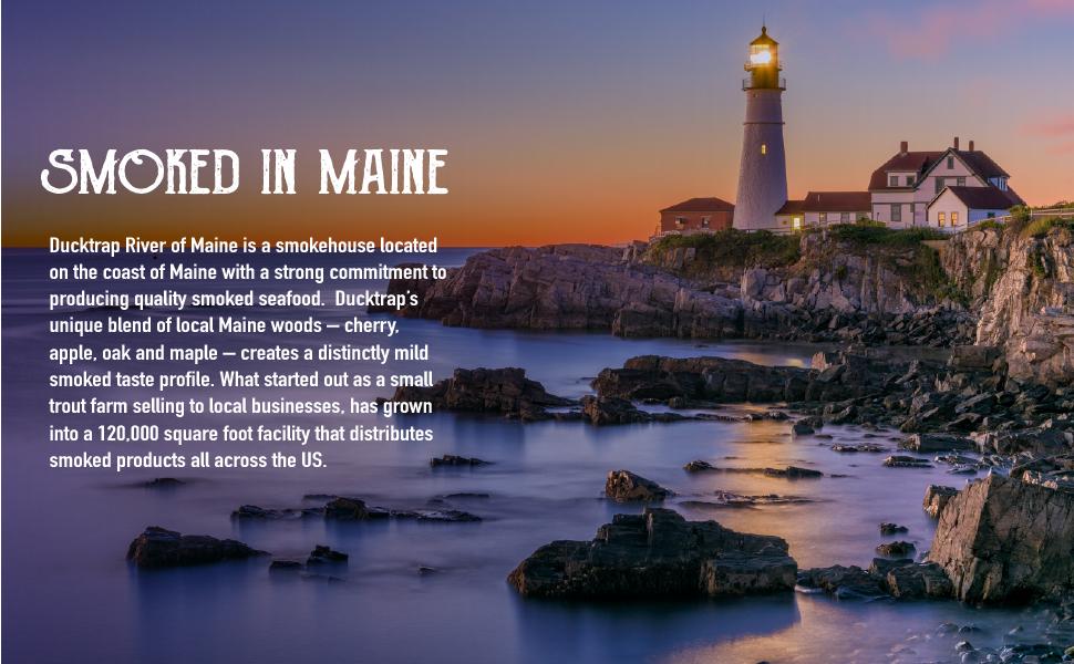 Made in Maine. Environmentally concious