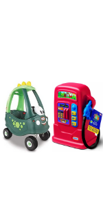 Little Tikes Cozy Coupe Dino and Cozy Pumper