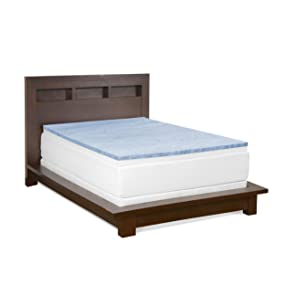 revitalize and firm up your old mattress with the serenia sleep 3inch memory foam combo topper