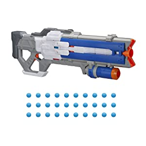 Lính: 76;  Overwatch;  súng đối thủ nerf;  nerf đối thủ của Overwatch blasters;  d.va;  dva;  máy gặt