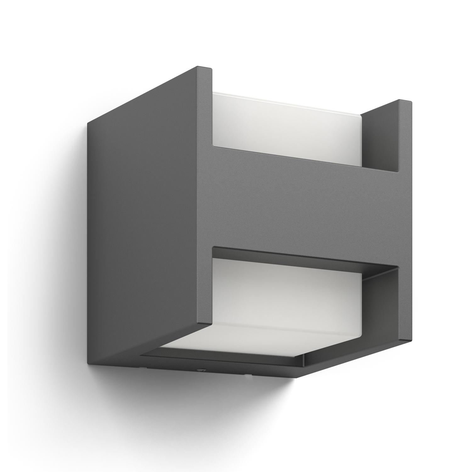 Philips luminaire ext rieur led applique arbour anthracite for Luminaire exterieur gris anthracite