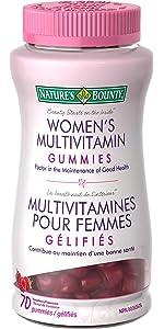 multivitamin, gummy vitamin, women's multi, multi vitamin