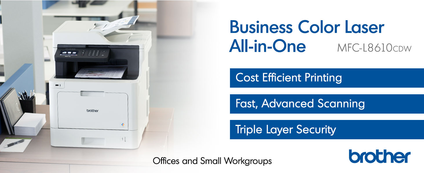 MFCL8610CDW business color laser all in one