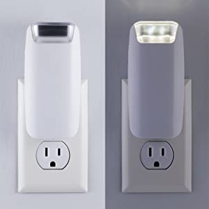 plug in power failure night light battery operated