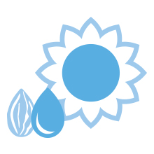Cetaphil Baby Daily Lotion contains almond and sunflower oils to naturally moisturize skin