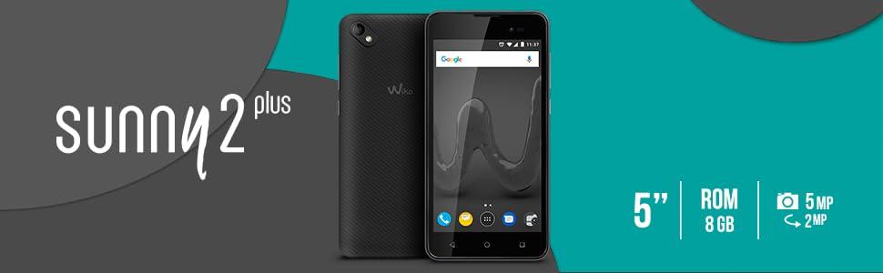 Wiko Sunny 2 Plus SIM Doble 8GB Negro: Wiko: Amazon.es: Electrónica