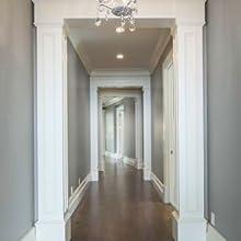 hallway door frame