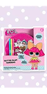 LOL Surprise Glitter Glam Bag by Horizon Group USA