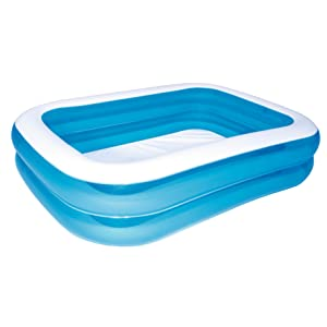 Bestway - Piscina Hinchable, Infantil, Azul , 262 x 175 x 51 cm: Bestway Family Pool: Amazon.es: Coche y moto