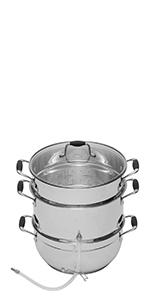 deluxe stainless steel steam juicer vkp1150
