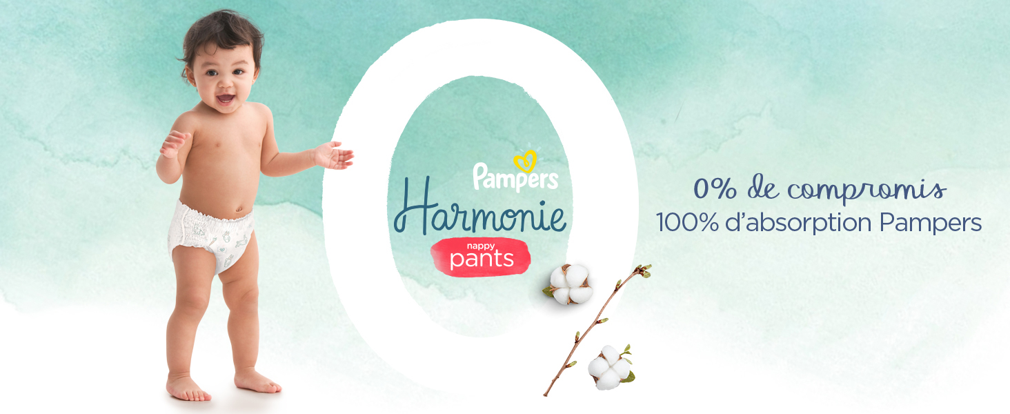 100% Pampers Dryness