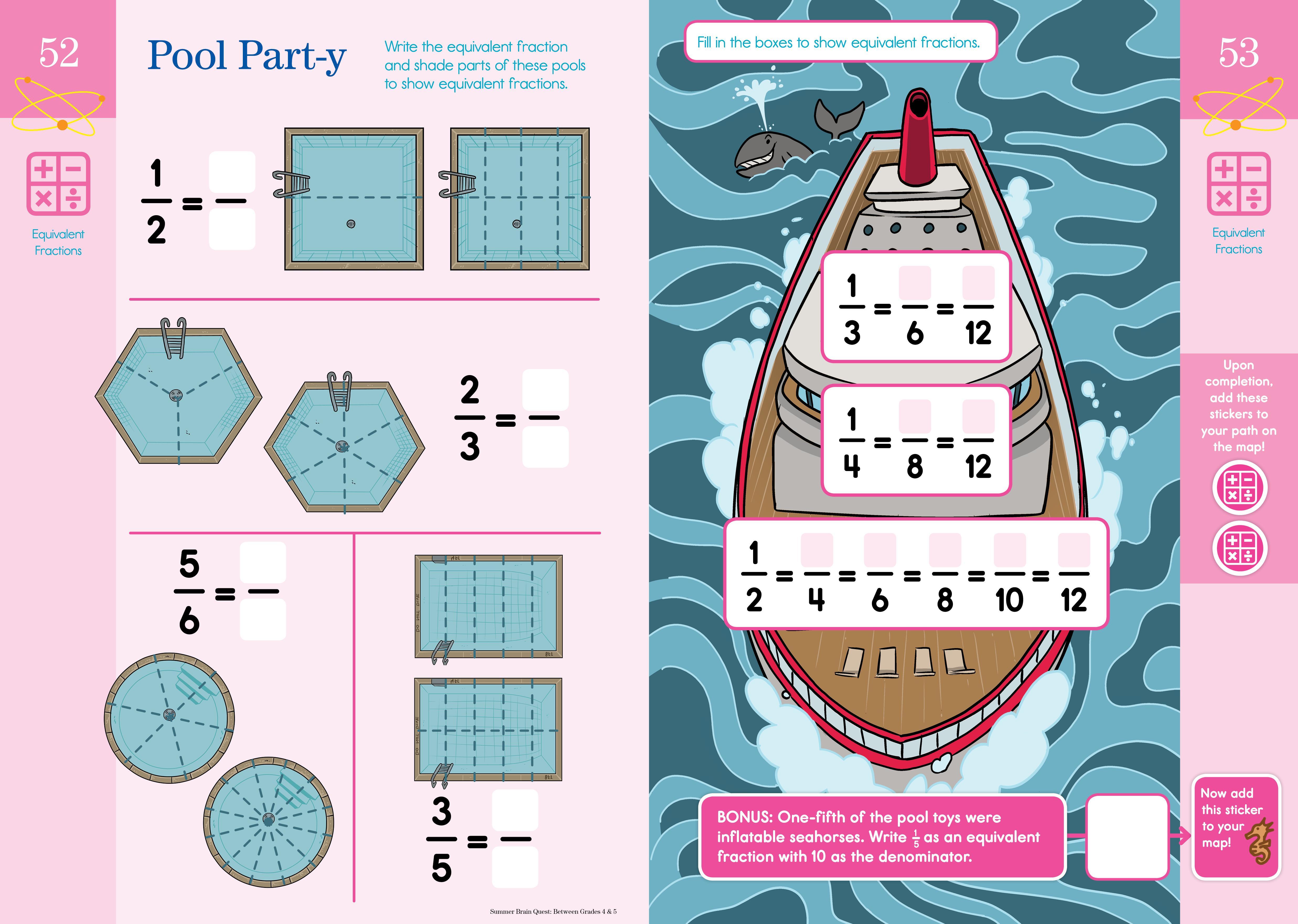 Amazon.com: Summer Brain Quest: Between Grades 4 & 5 (9780761189206 ...