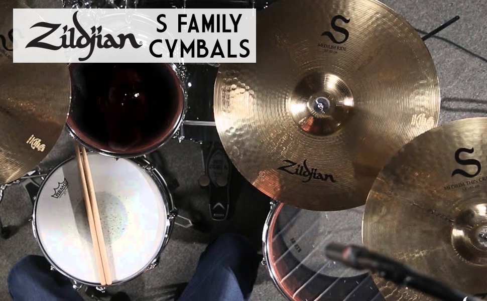 zildjian, s family, pack, bundle, beginner, starter, bundle, deal, pro, professional, s series