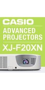 Casio XJ-F20XN 079767468866 Laser LED Hybrid projector HDMI school business classroom presentation