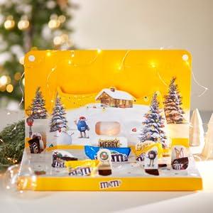 M&M'S; Weihnachten;Adventskalender