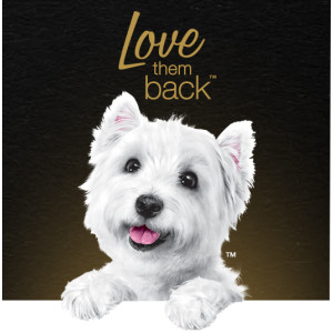 Love Them Back, Tasty Dog Food, Delicious Food for Dogs, Westie, Cesar Dog Food