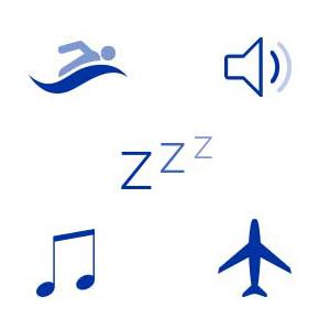 Earplugs Ear Plugs Sleeping Swimming Snoring Travel Loud Events Music Concerts Insomnia Rest Sleep