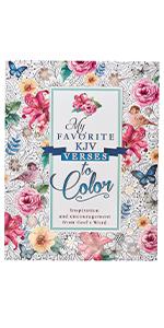 My Favorite KJV Verses to Color Coloring Book