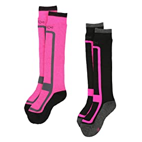 Ultrasport ZigZag Calcetines de esquí para niños y niñas Williams
