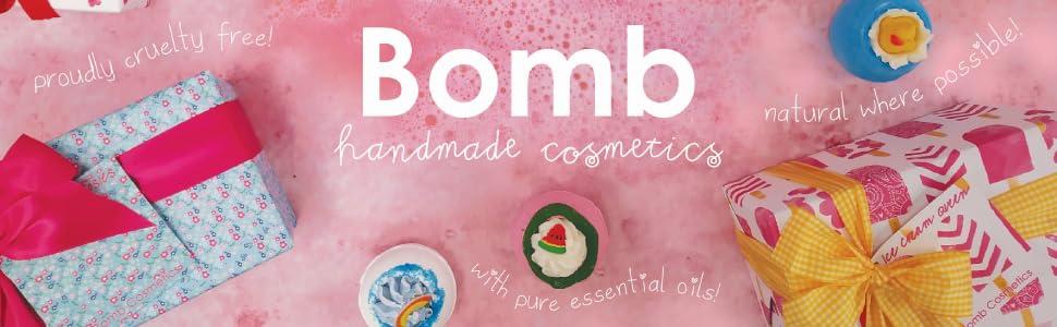 bomb Cosmetics footer