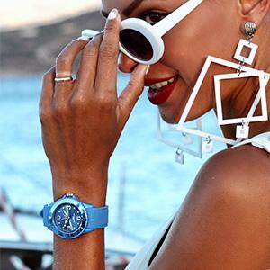 Ice Watch Montre Bleue Mixte Bracelet Silicone Ice Sixty Nine (013618)