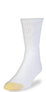GOLDTOE 656 Short Crew Sock; Athletic Sock; Sport Sock