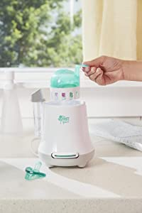 The First Years Babypro Quick Serve Bottle Warmer Colors