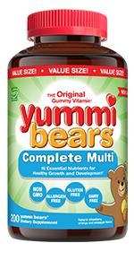 Yummi Bears Multi Value Size