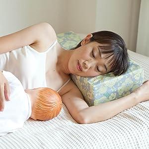 添い乳枕 Joy-chichiジョイチチ 頭部用枕 高い部分 メリット