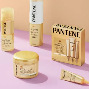 pantene pro-v collection gold recovery deep rescue intense intensive treatment broken hair damage