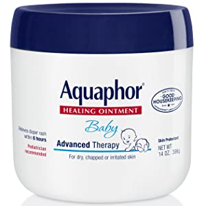 Aquaphor baby healing ointment jar
