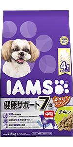 シニア犬用(7歳以上)健康サポート チキン中粒